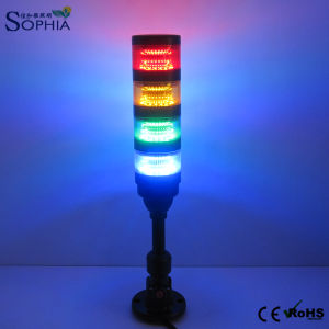 Four Stacks Signal Tower Light Machine Working Light CNC Light Alarm Light Warning Light