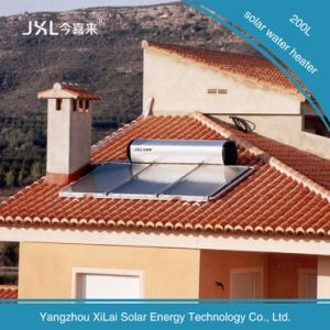 300L System Flat Solar Electric Water Heater pictures & photos