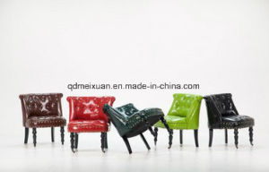 Leather Chairs Sitting Room Hotel Restaurant Office Sofa Sofa Outdoor Small Oil Wax Sofa Factory Direct Sale (M-X3788) pictures & photos