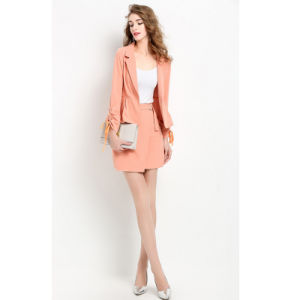 Custom New Model Business Woman Suit with High Quality pictures & photos