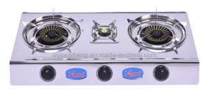 Three Burners Gas Cooker pictures & photos