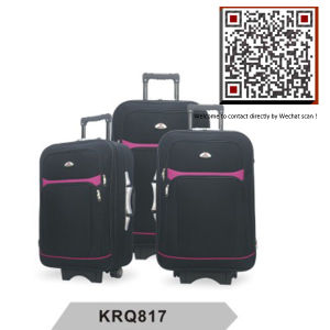 Hotsale Shantung Silk EVA Outside Trolley Luggage (KRQ817) pictures & photos