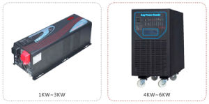 4000W Pure Sine Wave Home Solar Power Inverter with Charger pictures & photos