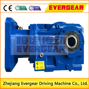 K Series Helical Gear Bevel Gearbox Transmission with Electric Motor pictures & photos