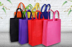 Nonwoven Shopping Distribute Gift Tote Bag Dfnwb005 pictures & photos