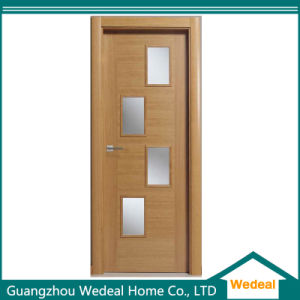 Customize Stylish Flush MDF Wood Veneer Door for Hotel pictures & photos