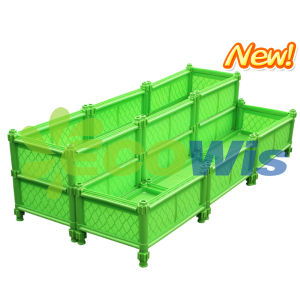 Step Balcony Garden Planter Box (HT5121) pictures & photos