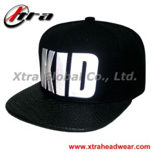 Snap Back Cap with High Frequency Logo pictures & photos