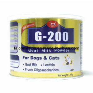 250g Goat Milk Powder Metal Cans for Dog and Cats pictures & photos