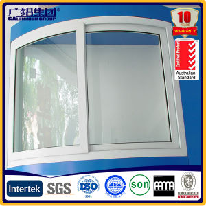 Aluminium Circular Arc Sliding Window and Door pictures & photos