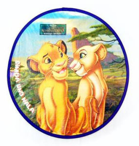 OEM Promotional Foldable Nylon Frisbee (3488)