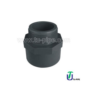 UPVC Male Adaptor DIN 8063 pictures & photos