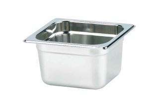 Stainless Steel Gastronorm Pan 1/6, 100 (YG16-4CT)