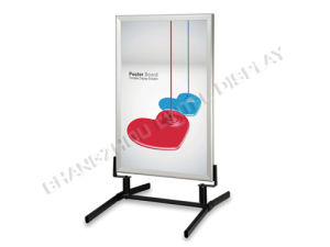 Stable and Portable Outdoor Metal Poster Board (LT-10H2) pictures & photos