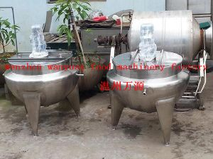 300 Liters Fixed Type Steam Heating Jacketed Kettle pictures & photos