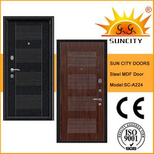 Popular Safety Steel Sheet PVC Armor Door with MDF (SC-A224)  sc 1 st  Yongkang Sun City Industrial Co. Ltd. & China Popular Safety Steel Sheet PVC Armor Door with MDF (SC-A224 ...
