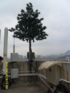 Camouflage Antenna Single Pole Tower Made in China pictures & photos