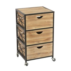 pretty nice 75ab4 23e0d 3 Layer Chic Chest of Drawers with Wheels