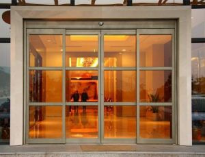 Customised Hotel Entrance Automatic Sliding Door pictures & photos