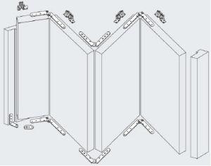 China Sliding Door Hardware, Folding Door Hardware, Sliding Door