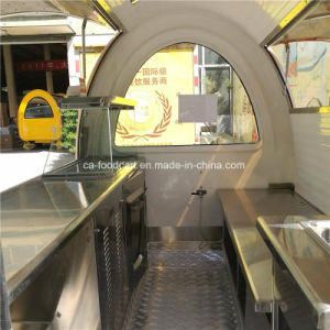 New Painting Technology Mobile Fast Food Cart pictures & photos