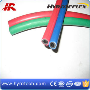 Blue and Red Twin Welding Hose pictures & photos