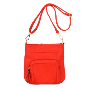 Red Long Strap Crossbody Designer Handbags Mbno034106