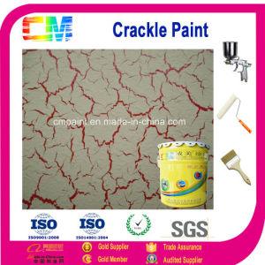 Interior Paint  Water Based Emulsion Multi Color Crackle Texture Art Paint