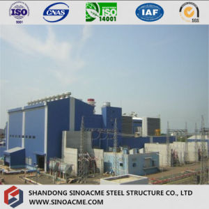 Heavy Steel Power Plant with High Rise Frame Structure pictures & photos