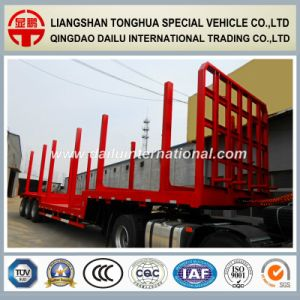3 Axle Wood Transport Timber Semi Trailer for Whole Sale