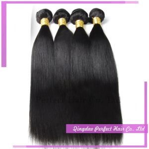 Best Selling Virgin Brazilian Straight Black Hair Extension pictures & photos