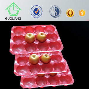 Eco-Friendly Fruit Display Molded Pulp Fiber Apple Tray Packing pictures & photos