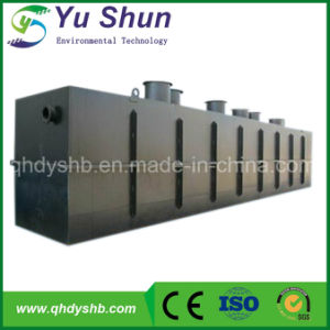 Undergound Containerized Wastewater Treatment Plant