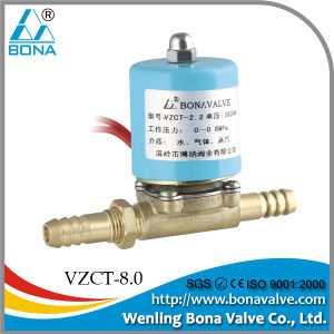 8.0*8.0mm Gas Solenoid Valve (VZCT-8.0) pictures & photos