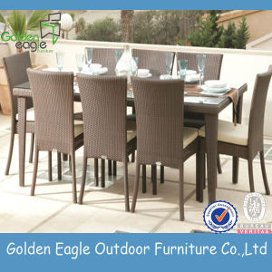 8 Seats PE Rattan Outdoor Plastics Chairs Garden Sets (FP0121)