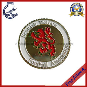 3D Sports Coin with Rope Edge