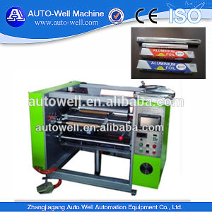 Aluminum Foil Roll Rewinder with CE pictures & photos