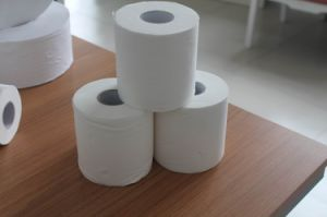 Virgin Pulp Toilet Tissue Roll pictures & photos