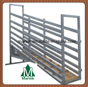 Livestock Yard Cattle Adjustable Loading Ramp pictures & photos