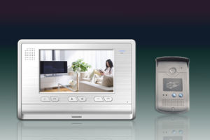 Video Color Door Phone Model C08be with 616 System for Villa (C08BE)