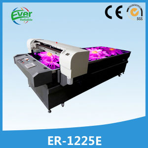 High Speed 8 Color Digital Flatbed Inkjet PVC Printing Machine