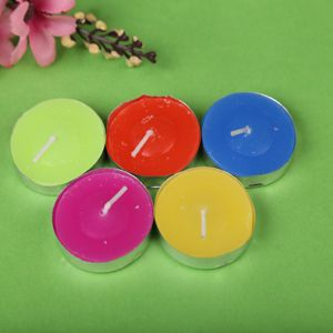 Wholesale 14G Scented Colorful Tealight Candles for Home Decoration pictures & photos