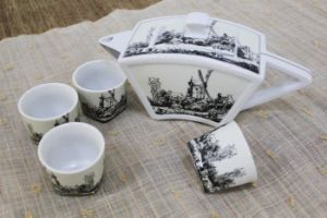 Bone China Tableware Ceramic Teapot Dinner Set (CC-TP20)