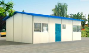 Long Service Time 113.81m2 Cheap Prefab Houses for Sale pictures & photos