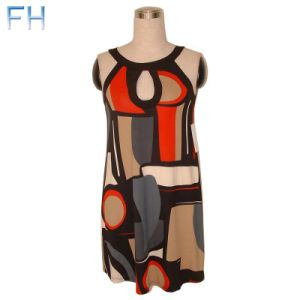 Ladies Fashion Woven Dress