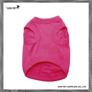 Dog Clothing Plain Dog Tee Spt6003-1 pictures & photos