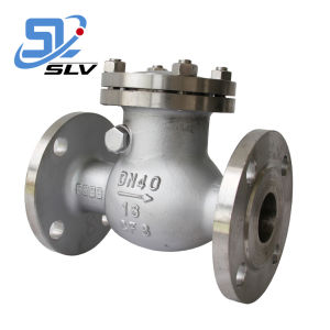"Stainless Steel/Cast Steel/Carbon Steel/Wcb Non-Return Swing/Wafer/Lift/Dual Check Valve 8"" 150lb 300lb 600lb 900lb J-Valves"