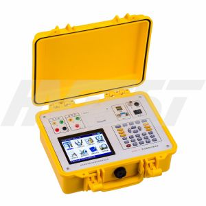 Htbc-V IEC60076 Electric TTR Testing Equipment Transformer Turns Ratio Test Set