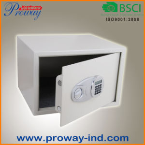 LCD Display Vibration Alarm Security Hotel Safe Box pictures & photos