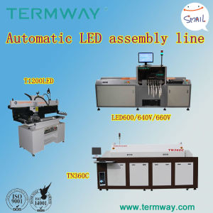 Offfline Type LED PCB Assemble Line with LED Chip Mounter L6 (TORCH) pictures & photos